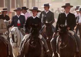 El plano de las casetas de la Feria del Caballo de Jerez 2018